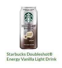 starbucks doubleshot vanilla light starbucks nutrition facts my path wellness