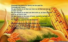 meaning thanksgiving poems for family free quotes poems