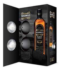 liquor gift sets bushmills black bush gift set 750ml 2 balls liquor