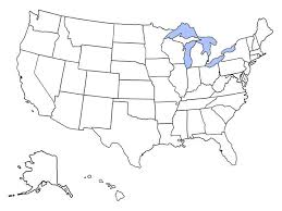 usa map states worksheet states bordering canada on a map quiz by justchris