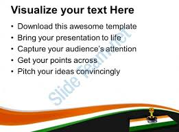 national flag key on it india safety powerpoint templates ppt