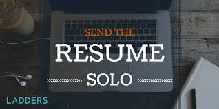 Sending References With Resume Send The Resume Solo Ladders