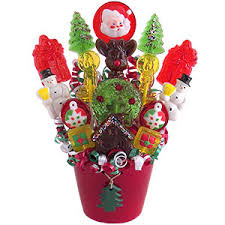 gift baskets for christmas santa s christmas candy bouquet christmas candy bouquets