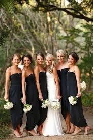 black and bridesmaid dresses black bridesmaid dresses 2017 wedding ideas magazine weddings