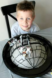 star wars death star birthday cake tutorial crafted by lindy