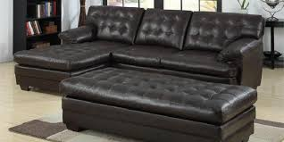 Faux Leather Sectional Sofa With Chaise Best Small Sectional Sofa With Chaise Lounge 2018 2019