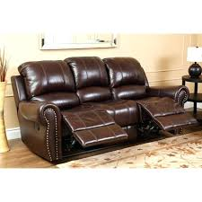 abbyson living bradford faux leather reclining sofa leather sofa material type acai sofa