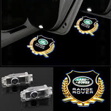 range rover welcome light 2x welcome courtesy led door light projector logo hd for range rover