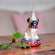 pug christmas decoration by the christmas home