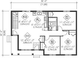 country floor plan 3 bedrms 1 baths 941 sq ft 157 1069