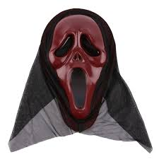 scary ghost mask scream halloween grimace mask fancy party props