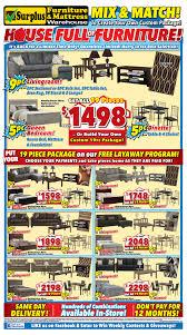 surplus furniture kitchener surplus furniture mattress warehouse kitchener flyer august 1