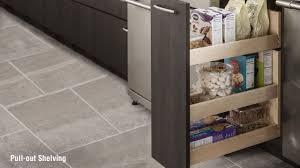 schuler kitchen cabinets storage solutions u2013 pull out pantry youtube