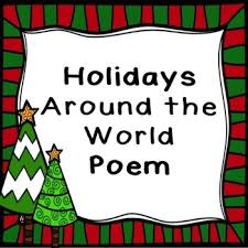 holidays around the world poem by sol learning tpt
