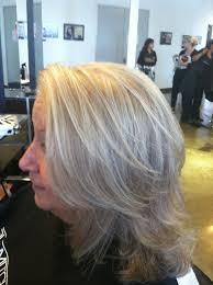 hoghtlighting hair with gray highlighting gray hair photos hairs picture gallery