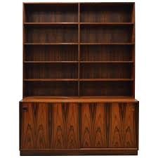 Modern Bookcases Mid Century Modern Danish Rosewood Bookcase For Sale At 1stdibs