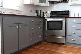 Cabinet Polish Gray Kitchen Cabinets Transitional Benjamin Moore Lower Enchanting