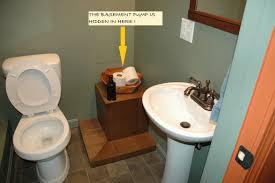 basement bathroom system