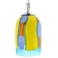 Murano Glass Lighting Pendants by Murano Glass Lighting Murano Glass Pendant Light Blue Lagoon