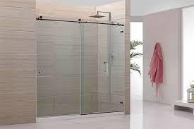 Shower Sliding Door Hardware Extraordinary Sliding Glass Shower Door Hardware On Barn
