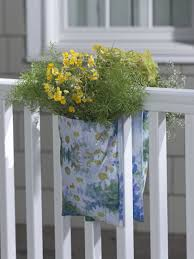 railing planter fabric railing hanging planter gardener u0027s supply