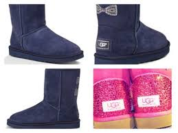 customise your ugg boots for free this autumn global blue custom ugg boots made with swarovski bow free