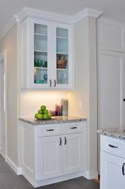 Crown Moulding For Kitchen Cabinets Need Crown Molding Advice For White Kitchen With Shaker Cabinets