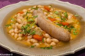 comment cuisiner des haricots blancs saucisses aux haricots blancs kilometre 0 fr