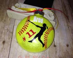 ornaments to personalize christmas vinyl sports ornament glitter ornament personalize