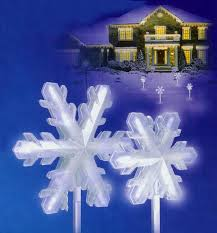 set of 4 white frosted led lighted 3 d snowflake