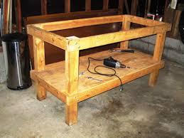 Woodworking Garage Cabinets Garage Workbench Plans For Building Workbench In Garage Cabinets