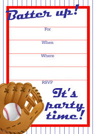 baseball birthday cards baby shower invitation design