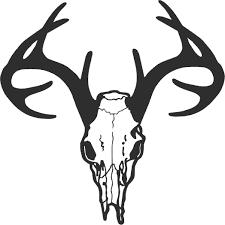 big tattoos for men big deer outline tattoo for men