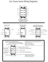 carling technologies rocker switch wiring diagram and on off with