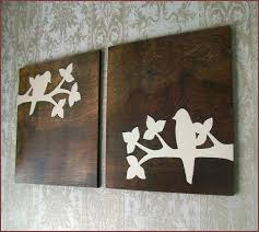 wooden bird wall decor home design ideas