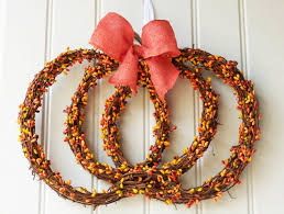 wonderful handmade thanksgiving wreath designs to decorate your