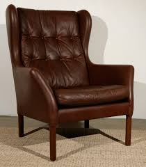 elegant leather wingback chair design 61 in raphaels bar for your