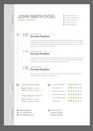 8 best images of resume cv template free creative resume