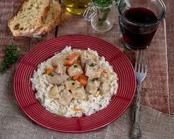 blanquette de veau cuisine az recette blanquette de veau aux chignons de