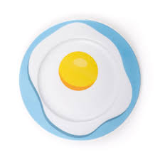 egg plate by studio seletti egg porcelain plate richards