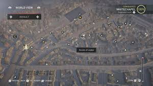 secret map assassin s creed syndicate all secrets of locations