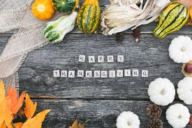 wishing thanksgiving picture of happy thanksgiving flatlay u2014 free stock photo