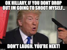 Shoot Myself Meme - moron imgflip