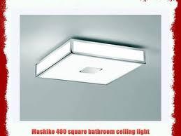 astro lighting mashiko 400 square bathroom ceiling light 0891