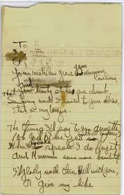Writing Love Letters To Your Girlfriend Hemingway U0027s First Love His Passionate Poem Is Found In Oak Park