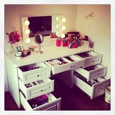 makeup dressers best vanity furniture design white stained wooden