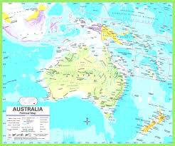 France Political Map by Political Map Of Australia Within Austrelia Evenakliyat Biz