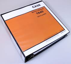 case 1840 uni loader skid steer service repair manual technical
