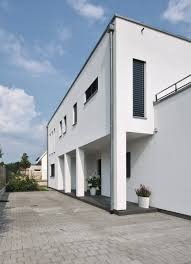 weberhaus large contemporary bauhaus style prefabricated villa