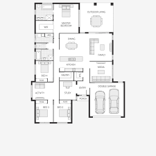 Metricon Floor Plans Single Storey by The Daydream Series Resort Style Living